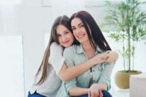 pure women Mutter und Tochter