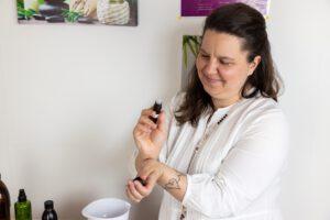Meine Arbeit mit den Ölen von Young Living. Andrea Beerbaum, Aroma- und Selbstpflege Coaching